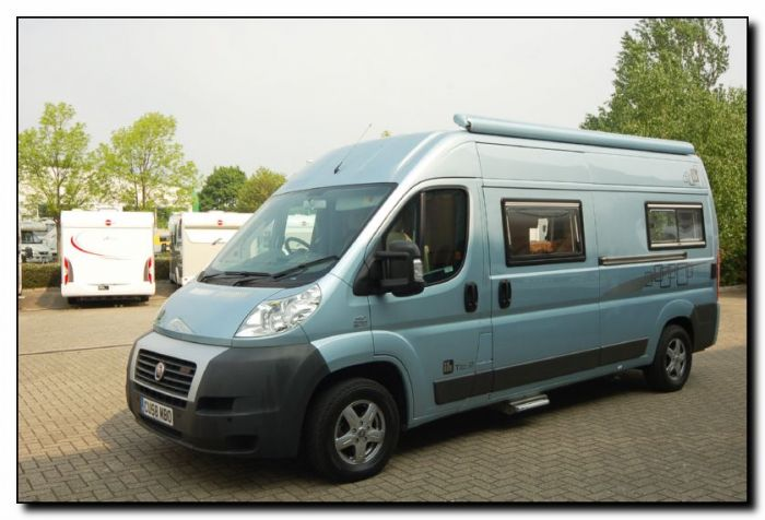 Used IH Tio R Panel Van Conversion Motorhome U2171 For Sale At Southdowns Centre