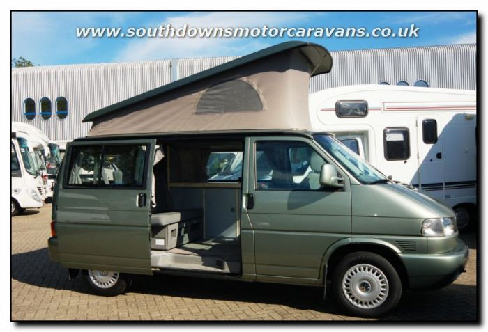 Used LHD Volkswagen VW California Freestyle Van Conversion Motorhome U2537 For Sale At Southdowns Centre