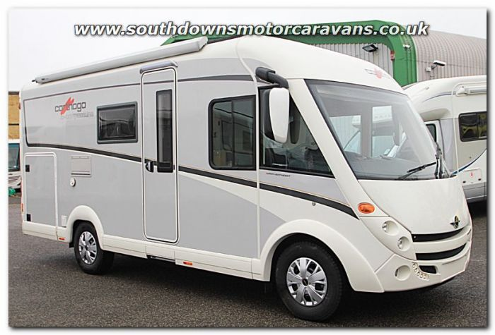 6eb3e69382 New 2017 Carthago C-Compactline I 138 Super-Lightweight Fiat 2.3L 150  Automatic A-Class Motorhome N100846 For Sale at Southdowns Motorhome Centre