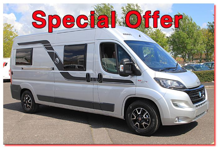New 2017 Knaus Boxlife 600 MQ Fiat 23L 150 Automatic Van Conversion Motorhome N100736 For Sale At Southdowns Centre