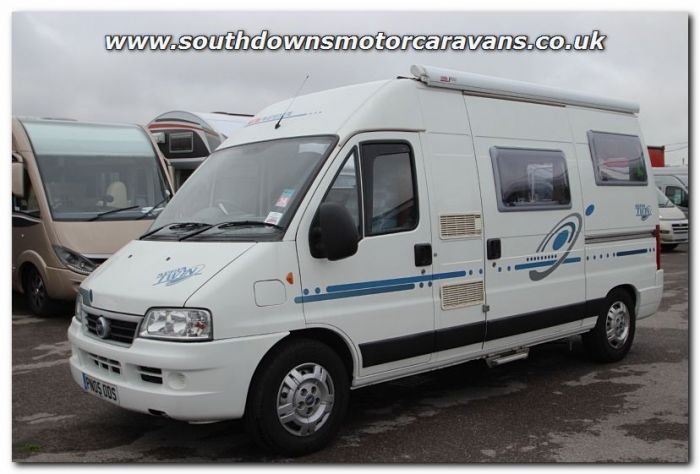 Used Adria Twin Fiat 28L Van Conversion Motorhome U200602 For Sale At Southdowns Centre