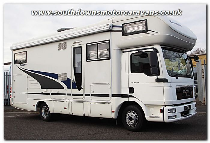 1834798177cfb3 Used Concorde Cruiser 840HR MAN TGL 8.220 Automatic Coachbuilt Motorhome  U201294 For Sale at Southdowns Motorhome Centre