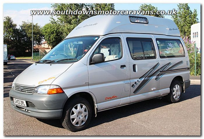 Used Devon Rio Grande 25L Van Conversion Motorhome U200562 Now Sold
