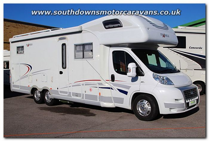 bece1cb9f3 Used Frankia 840 BD Luxury Class Fiat 3.0L 160 Tag-Axle Coachbuilt Motorhome  U200606 Just Arrived For Sale at Southdowns Motorhome Centre