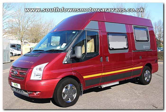 Used Globecar Trendscout RD Ford Transit 22L TDCI 130 Van Conversion Motorhome U200967 For Sale At Southdowns Centre