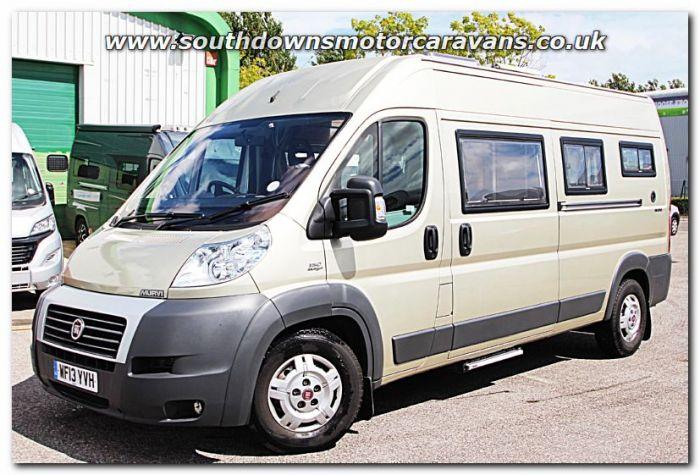 Used Murvi Morello Fiat 23L 150 Automatic Van Conversion Motorhome U201238 For Sale At Southdowns Centre