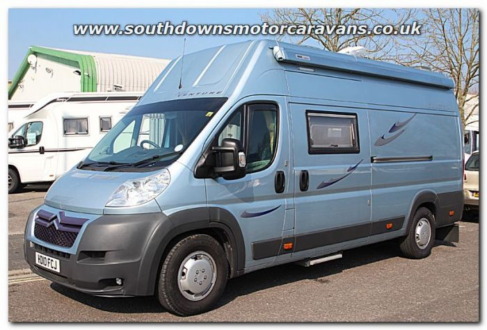 Used NU Venture Caletta Citroen Relay Van Conversion Motorhome U200949 For Sale At Southdowns Centre