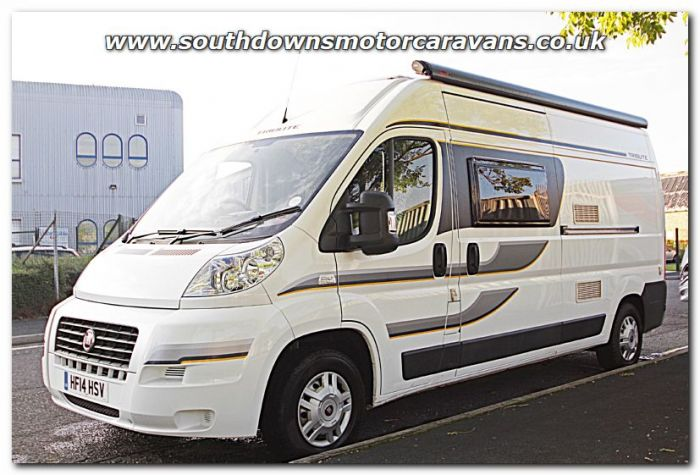 Used Trigano Tribute 669 Fiat 23L 130 Van Conversion Motorhome U201129 For Sale At Southdowns Centre