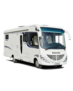 New 2013 Concorde Carver 721H Iveco 65C17 A-Class Motorhome