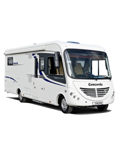 New 2013 Concorde Credo Emotion 713H Fiat 2.3L 150 A-Class Motorhome