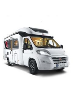 New 2016 Burstner Ixeo it680G Fiat Ducato Low-Profile Motorhome