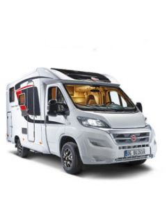 New 2016 Burstner Travel Van t590G Fiat Ducato Low-Profile Motorhome