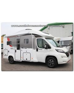 New 2017 Burstner Ixeo Time it586 Sovereign Fiat 2.3L 150 Automatic Low-Profile Motorhome N100781