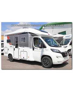 New 2017 Burstner Ixeo Time it586 Sovereign Fiat 2.3L 150 Automatic Low-Profile Motorhome N100782