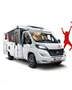New 2017 Burstner Nexxo t740 Sovereign Fiat 2.3L 150 Automatic Low-Profile Motorhome N100891 Factory Ordered