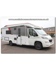 New 2017 Burstner Nexxo t720 Sovereign Fiat 2.3L 150 Automatic Low-Profile Motorhome N100893