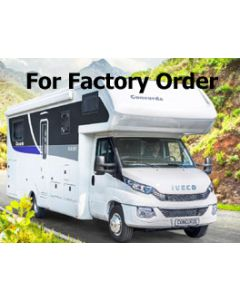 New 2017 Concorde Cruiser 791RL Iveco Daily Coachbuilt Motorhome