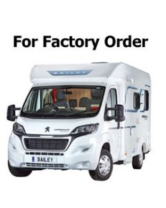 New 2018 Bailey Approach Advance 640 Peugeot Boxer Low-Profile Motorhome Available For Order