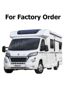New 2018 Bailey Autograph 68-2 Peugeot Boxer Low-Profile Motorhome Available For Order