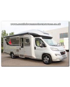 2018 Burstner Ixeo TL 734 Fiat 150 Automatic Low-Profile Motorhome N101151 Just Arrived