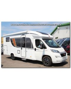 2018 Burstner Lyseo Harmony Line TD 728G Fiat 150 Automatic Low-Profile Motorhome N101099 Just Arrived