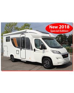 New 2018 Burstner Lyseo TD 690G Harmony Line Fiat 130 Low-Profile Motorhome N100962 SOLD