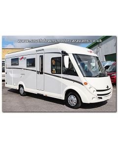 New 2017 Carthago C-Compactline I 145QB Super-Lightweight Fiat 2.3L 150 Automatic A-Class Motorhome N100935 Just Arrived