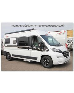 New 2017 Carthago Malibu 600DB Charming Fiat 2.3L 150 Automatic Van Conversion Motorhome N100842