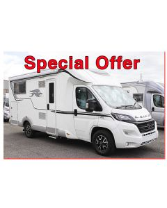 New 2016 Laika Ecovip 312 'Dolce Vita' Special Edition Fiat 150 Automatic Low-Profile Motorhome N100569 Special Offer
