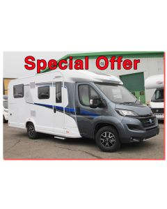 New 2017 Knaus Sky Ti 650MEG Fiat 2.3L 150 Automatic Low-Profile Motorhome N100715 *On Sale*