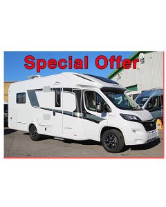 New 2017 Knaus Sun Ti 700MX Platinum Fiat 2.3L 130 Low-Profile Motorhome N100729 *On Sale*