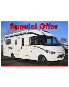 New 2017 Laika Ecovip 712 'Dolce Vita' Special Edition Fiat 2.3L 150 Automatic A-Class Motorhome N100757 *On Sale*