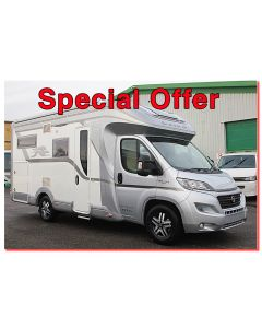 New 2017 Laika Kreos 3009S 'Dolce Vita' Special Edition Fiat 2.3L 150 Automatic Low-Profile Motorhome N100761 *On Sale*