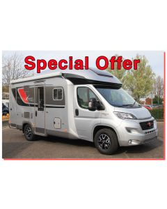 New 2017 Burstner Ixeo it640 Fiat 2.3L 150 Automatic Low-Profile Motorhome N100816 Special Offer