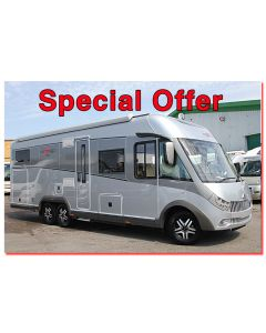 New 2017 Carthago Chic E-Line I 55XL Linerclass Fiat 2.3L 180 Automatic Tag-Axle A-Class Motorhome N100860 Special Offer