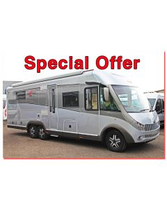 New 2017 Carthago Chic E-Line I 58XL Linerclass Fiat 2.3L 180 Automatic Tag-Axle A-Class Motorhome N100861 *On Sale*