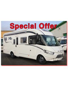 New 2017 Laika Ecovip 710 'Dolce Vita' Special Edition Fiat 2.3L 150 Automatic A-Class Motorhome N100872 *On Sale* SOLD