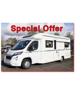 New 2017 Bailey Autograph 75-2 Peugeot 2.0L 160 Low-Profile Motorhome N100904 *On Sale*