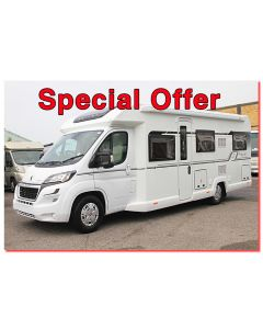 New 2017 Bailey Autograph 79-6 Peugeot 2.0L 160 Low-Profile Motorhome N100924 *On Sale*