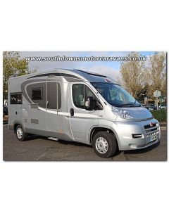 Used Burstner Brevio t605 Fiat 2.3L 130 Low-Profile Motorhome U201265