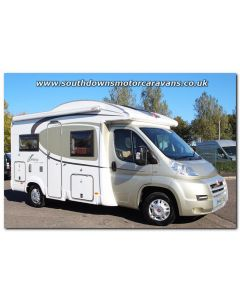 Used Burstner Ixeo Time it 585 Fiat 2.3L 130 Low-Profile Motorhome U201425