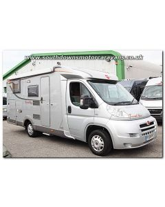 Used Burstner Travel Van t620 Fiat 2.3L 130 Low-Profile Motorhome U201220