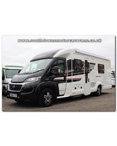 Used Swift Bolero 722 FB Black Edition Fiat 2.3L 150 Low-Profile Motorhome U201268