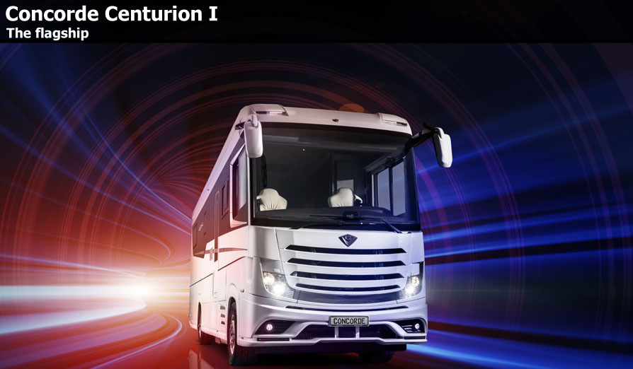 New Concorde Centurion Motorhomes For Sale
