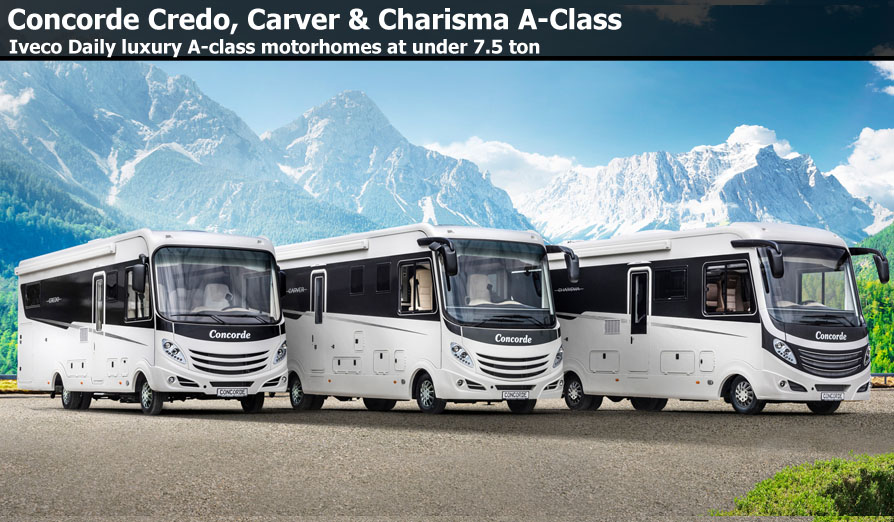 New Concorde Motorhomes For Sale