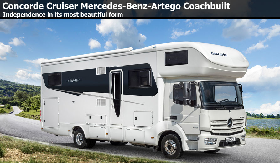 New Concorde Motorhomes For Sale At Southdowns Motorhome