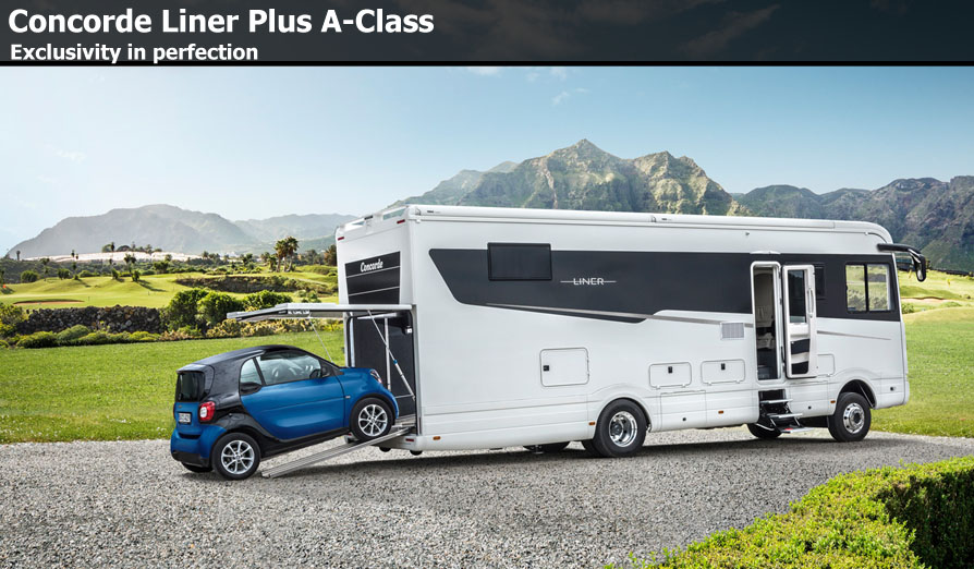 Motor plus motorhomes for Garage class auto
