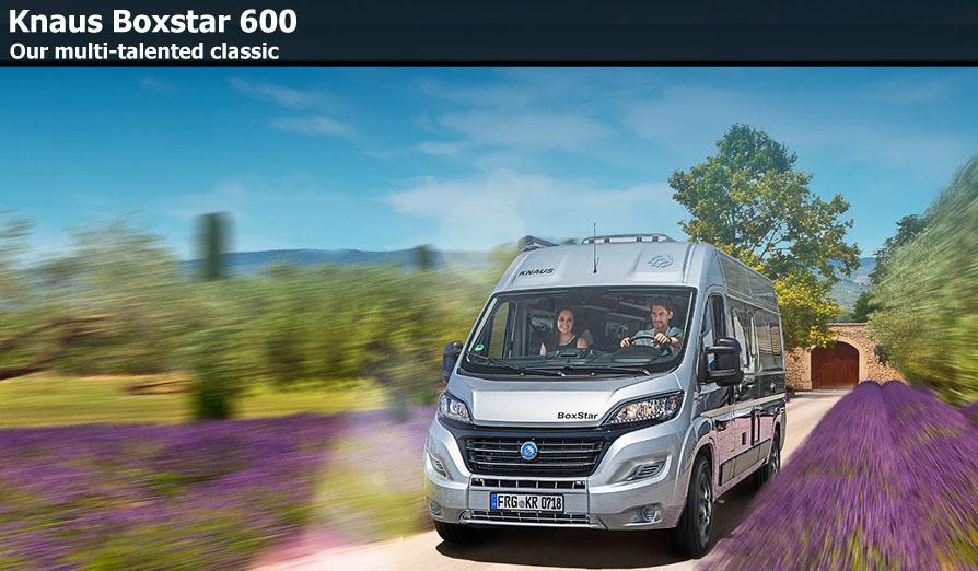 Knaus Boxstar 600 Camper Vans