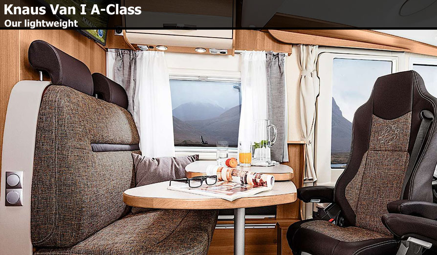 knaus van i a class motorhomes for sale at southdowns