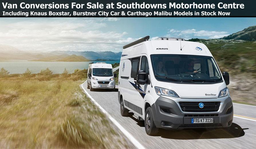New Camper Vans For Sale At Southdowns Motorhome Centre